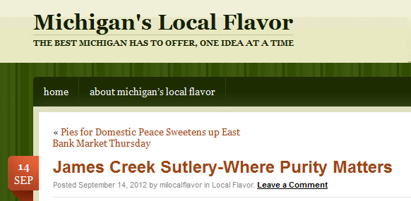 Michigan's Local Flavor
